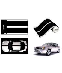Speedwav Car Racing Stripe Graphic Sticker Black For Ford Ikon: Buy ... Ford Lightning 2 Sticker Hot New Left Right Racing Team Auto Body Vinyl Diy 052017 Mustang Distressed Flag Trunk Lid Decal Ztr Graphicz Used Decals Stickers For Sale More Auto And Truck Herr Wwwbloodazecom Stickers Powered By Edition Decal Sticker Logo Silver Pair Other Emblems Ranger Raptor Kit Style B Set Of 2017 F150 Stx Offroad Vinyl Pickup 1pc Free Shipping Longhorn Ranger 300mm Graphic Rap002b Removable Ford Truck Classic Car 58x75cm Wall