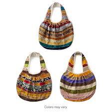 sari bag patchwork recycled sari purse uncommongoods