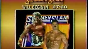 Wcw Halloween Havoc 1991 by Wwf Summerslam 1990 Countdown Show Dailymotion