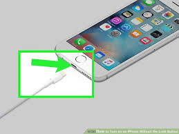 How to Turn on an iPhone Without the Lock Button 5 Steps