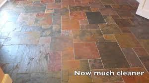 Tile Haze Remover Uk by Slate Floor Cleaning Youtube