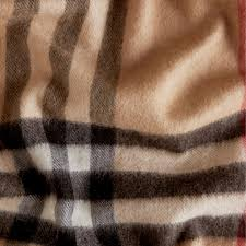 the classic check cashmere scarf in camel burberry