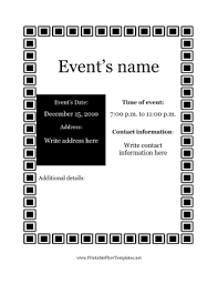Halloween Potluck Invitation Template Free Printable by Party And Event Flyers