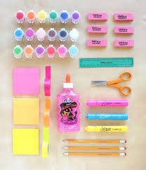 DIY Eraser Stamps Lines Across