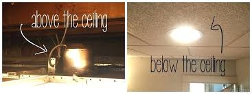 Install Drop Ceiling How To Install Suspended Ceiling Lights