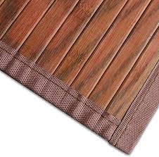 casa pura bambusteppich magenta braun für bad und wohnzimmer natürlich wohnen bambus bambusmatte in vielen größen 90x120 cm