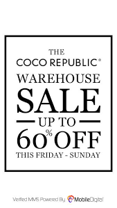 101 Coco Republic Warehouse Alert Clearance This Weekend Up To 60 Off 292 Parramatta Road Auburn Staging Designs Property Styling Interior Renovations Design Sydney Facebook