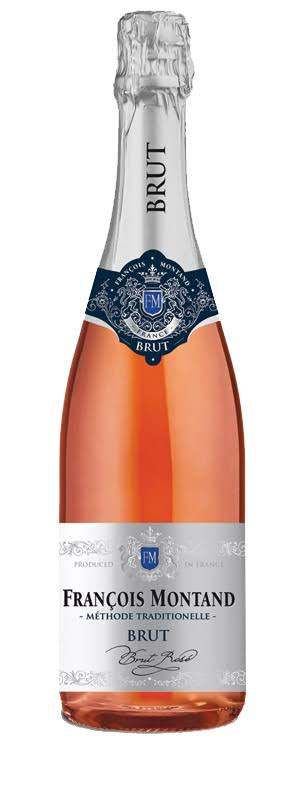 Francois Montand Brut Rose Champagne (Vintage Varies) - 750 ml bottle