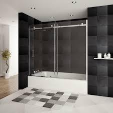 bathroom excellent bathtub shower splash guard glass 61 bathtub