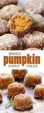 Pumpkin Cake Mix Donuts by Baked Pumpkin Donut Holes Cakescottage