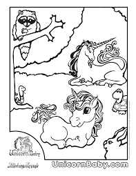 Coloring Pages Unicorns Unicorn Beautiful Draw So Cute