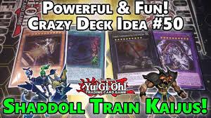 Top Ten Yugioh Decks 2017 by Super Powerful U0026 Fun Crazy Yugioh Deck Idea 50 Shaddoll Train