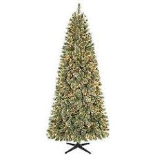 Country Living 75ft Harrison Cashmere Slim Christmas Tree With Clear Lights NEW Item