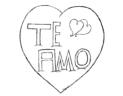 Free Coloring Pages Of I Love You Auntie