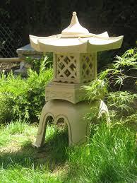 lanterne japonaise en céramique cay den vuon nhat