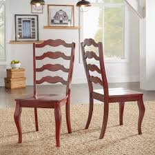 Eleanor French Ladder Back Wood Dining Chair (Set Of 2) By INSPIRE Q ... Guy Chaddock Melrose Custom Handmade Fniture Cf0485s Country French Ding Chairs With Ladder Back And Rush Seats Antique Farm Carved Tall Seat Room Set Of 6 Provincial In Walnut 10 Louis Xv Style Oak Leather Nailhead Recliner Chair Vintage White Of Four Six Xiv Ladderback Scalloped Stretchers Inspire Q Eleanor Wood 2 By Dec 16 2018