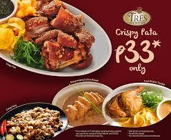 tres cuisine restaurant quezon city philippines