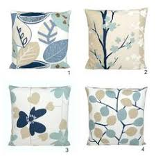 Duck Egg Blue Cushion Cover 18x18 Pillow Cover by CoupleHome $18 50