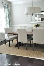 Rugs For Dining Rooms Rug In Room Impressive Design Ideas Area Sizes