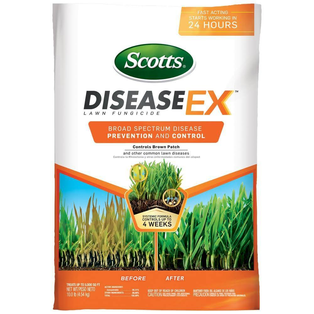 Scotts 37610 Disease EX Lawn Fungicide Control Fertilizer - 11lbs