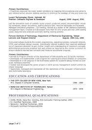 Professional Resume Sample 2