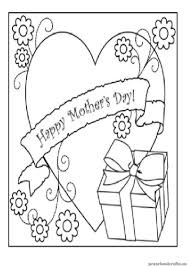 Kindergarten Mothers Day Coloring Pages Free Printables