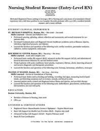 Entry Level Nursing Student Resume Sample Download