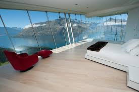 Jagged Edge Queenstown New Zealand Villa Rental Bedroom With A View