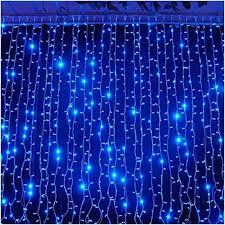 4m led waterfall lights festive lights