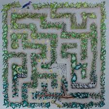 Maze Enchanted Forest By Zuzka