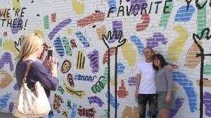 Deep Ellum Murals Address by Selfie Alert Deep Ellum Unveils Wall Of Kindcomments Cw33 Newsfix