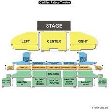 Cadillac Palace Theatre Virtual Seating Chart