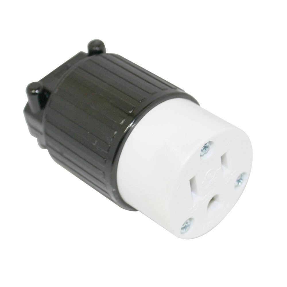 Superior Electric, YGA019F, Electrical Receptacle, 15 Amps, 125V