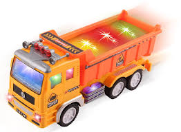 Amazon.com: Electric Dump Truck Construction Toy For Kids With ... Amazoncom Little Tikes Dirt Diggers 2in1 Dump Truck Toys Games 2017 Hess And End Loader Light Up Toy Goodbyeretail Intertional 4300 Altec Bucket C Flickr Long Haul Trucker Newray Ca Inc Sce Volunteers Cook Electric Made Of Food Cans 3bl Buy Bruder 116 Man Tga Low Online At Universe Decool 3350 King Steer Building Block Set Lloyd Ralston Ho Scale 7600 Utility Wbucket Lift Yellow Air Pump Crane Series Brands Products Www Lighted Ford F450 Xl Regular Cab Drw Service Body Lego Technic Lego 8071 Muffin Songs