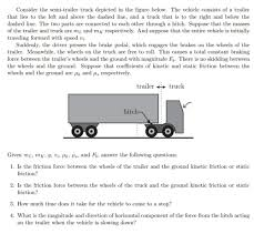 Solved: Consider The Semi-trailer Truck Depicted In The Fi ... I Dont Think Gta Designers Know How Semi Trucks Work Gaming Why Semi Jackknife Accidents Are So Deadly Guaranteed Heavy Duty Truck Fancing Services In Calgary Nikola Motor Company And Bosch Team Up On Longhaul Fuel Cell Truck Solved Consider The Semitrailer Depicted In Fi Semitrucks And Tractor Trailers Small Business Machines Dallas Farm Toys For Fun A Dealer Trucks Ultimate Buying Guide My Little Salesman Trailer Drawing At Getdrawingscom Free For Personal Use Tsi Sales Obtaing Jamesburg Parts Daimler Vision One Electric Promises 215 Miles Of Range