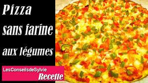 ep 104 recette pizza sans farine aux légumes simple