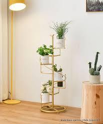 moderne multi schicht blumen regal wohnzimmer dekoration