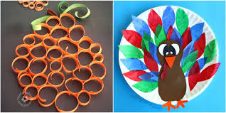 Easy Thanksgiving Crafts For Kids Ideas Crafting These Fall Craft Fun Diy Halloween Homemade