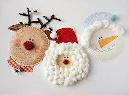 Paper Plate Christmas Characters Santa Rudolph Snowman By Amandaformaro For Kix Cereal