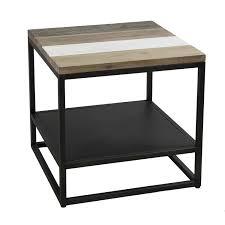 canapé circulaire bout de canapé table de chevet meuble salon pier import