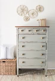 RESERVED FOR SYDNI Antique Chest Of Drawers Painted In Bedford