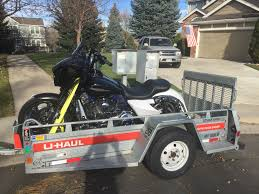 U-haul Motorcycle Trailer Advice Requested - Harley Davidson Forums