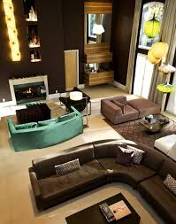 turquoise and brown living room decorating clear