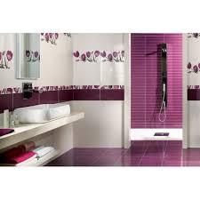 salle de bain mauve salle de bain mauve et blanc idées de décoration et de mobilier