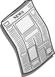 Newspaper Clipart Transparent Background