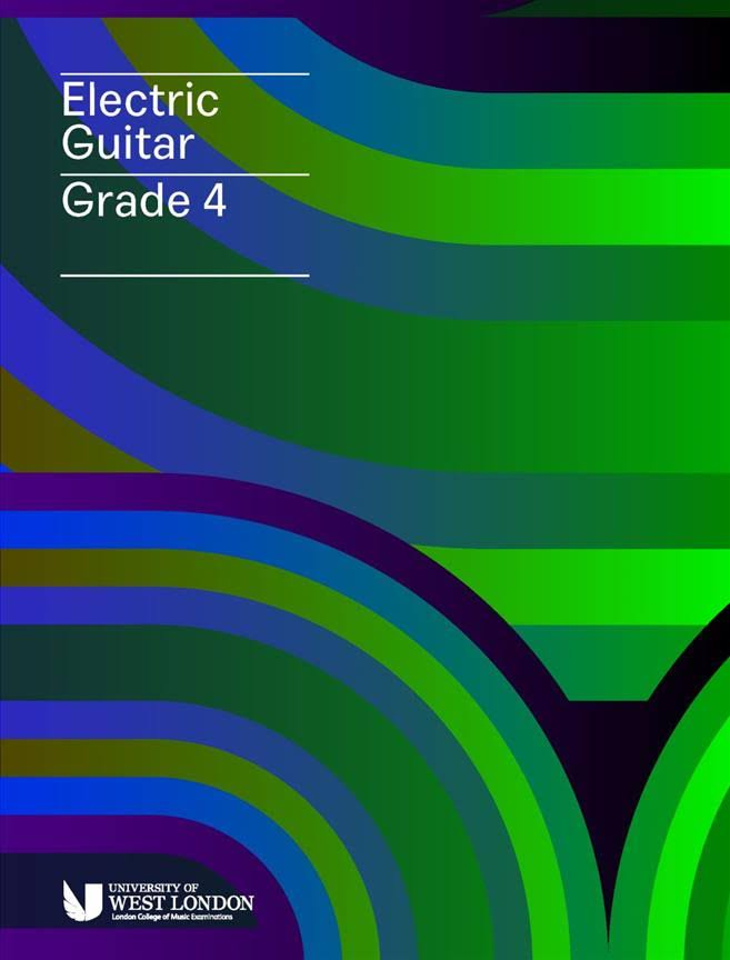 London College of Music Electric Guitar Grade 4 [Book]