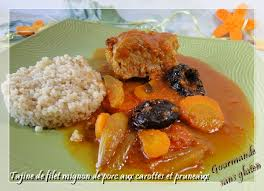 comment cuisiner le filet mignon de porc gourmande sans gluten tajine de filet mignon de porc aux carottes