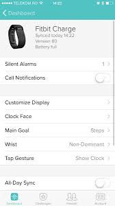Fitbit iPhone App How to Set Up a Silent Alarm App Demo