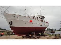 range trawlers for sale 1952 germany range steel motorsailer trawler sailboat for sale in