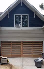 Handcrafted Wood Garage Doors Overhead Door pany Indianapolis